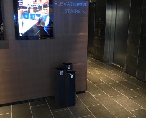 Papaya källsortering konferens lobby